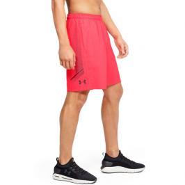 Pánské šortky Under Armour Woven Graphic Short červené