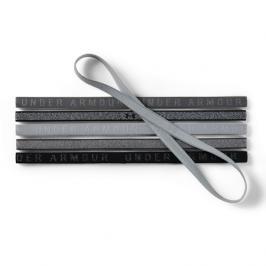 Čelenky Under Armour Mini Headband 6ks šedé