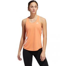 Dámské tílko adidas Own The Run 3S oranžové