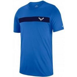 Pánské tričko Nike Rafa Court Dry Signal Blue