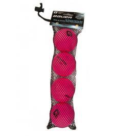 Míček BAUER Hydro G Cool Pink - 4 ks
