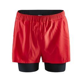 Pánské šortky Craft ADV Essence 2v1 červené