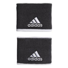 Potítka adidas Tennis Wristband Small Dark Grey (2 ks)
