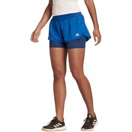 Dámské šortky adidas Heat.RDY modré