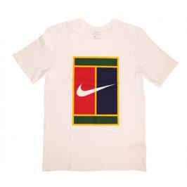 Pánské tričko Nike Court Tennis White - vel. XS