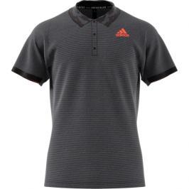 Pánské tričko adidas Freelift Polo Primeblue Dark Grey