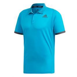 Pánské tričko adidas Freelift Polo Primeblue Blue