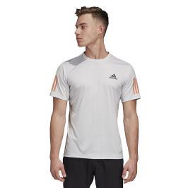 Pánské tričko adidas Club 3-Stripes Light Grey