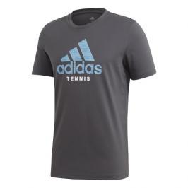 Pánské tričko adidas Category Logo Tee Dark Grey