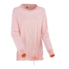 Dámské tričko Kari Traa Linea LS růžové