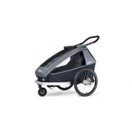 Dětský vozík Croozer Kid FOR 1 PLUS VAAYA GRAPHITE BLUE 2020 2V1 ODPRUŽENÝ