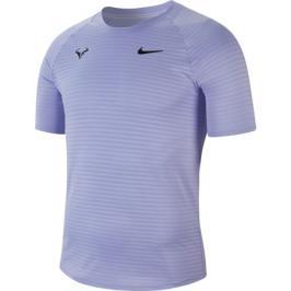 Pánské tričko Nike Court AeroReact Rafa Slam Purple Pulse