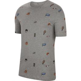Pánské tričko Nike Court M Tee RG Dark Grey Heather