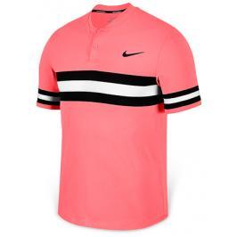 Pánské tričko Nike Court Advantage Polo Lava Glow