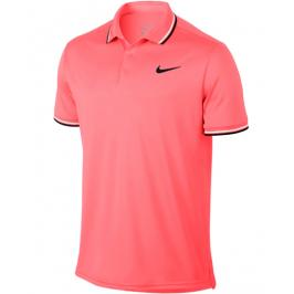 Pánské tričko Nike Court Dry Polo Lava Glow