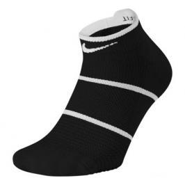 Ponožky Nike Court Essential No-Show Black/White