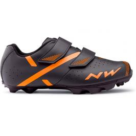 Cyklistické tretry Northwave Spike 2 anthra-orange