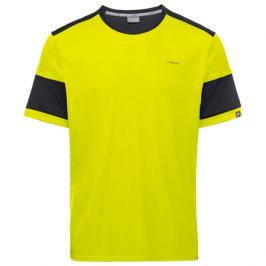 Pánské tričko Head Volley Yellow/Black
