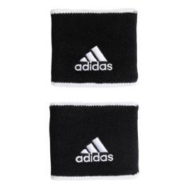 Potítka adidas Tennis Wristband Small Black 2 ks