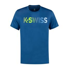 Pánské tričko K-Swiss Hypercourt Tee Blue