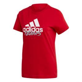 Dámské tričko adidas Tenis Red