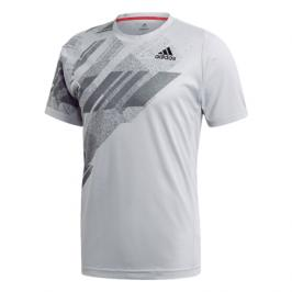 Pánské tričko adidas Freelift Print Heat.Rdy Grey