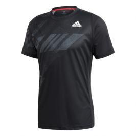 Pánské tričko adidas Freelift Print Heat.Rdy Black