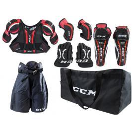 Dětský set chráničů na hokej CCM U+ Entry Kit