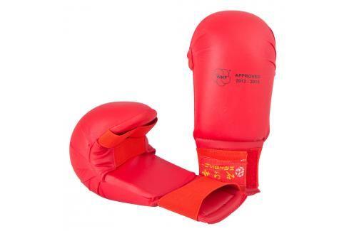 Hayashi karate chrániče WKF - Tsuki - červená červená L Boxerské rukavice