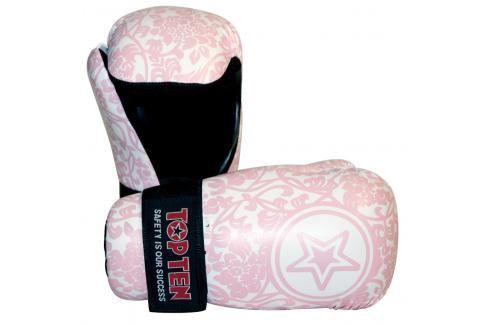Otevřené rukavige Top Ten Individuals růžová L Boxerské rukavice