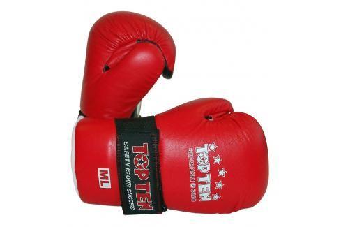 Otevřené rukavice Top Ten Superfight 3000 - červená červená S/M Boxerské rukavice