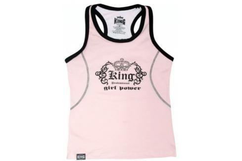 Dámský top King - růžová růžová S Dámské topy