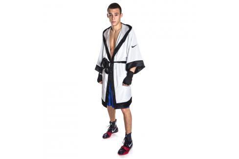 Nike boxerský plášť - župan bílá M Pánská trička