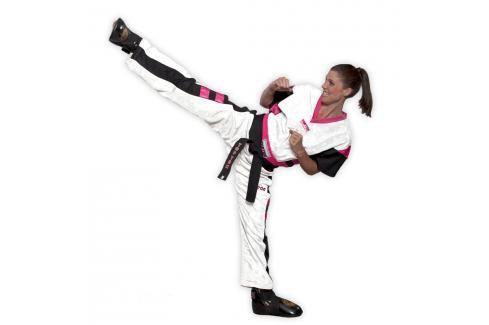 Uniforma Top Ten Mesh NEON - bílá bílá 170 Kimona