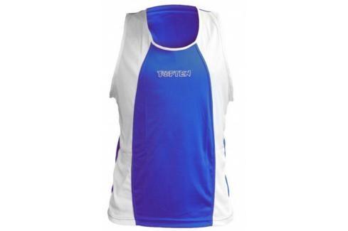 Boxerské tílko Top Ten - modrá modrá XL Pánská trička