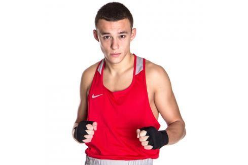 Nike boxerské tílko - červená červená XL Pánská trička