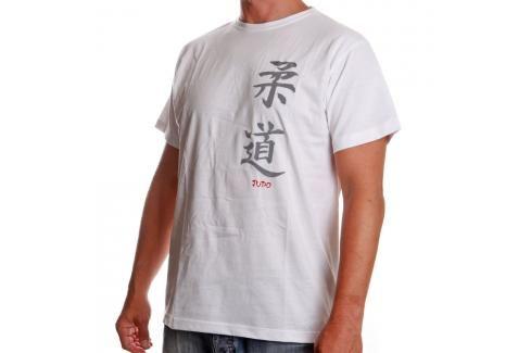 Triko Satori kaligrafie - JUDO - bílá bílá S Pánská trička