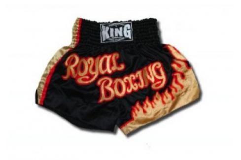 Thai trenky King - černá černá XXL Pánské šortky