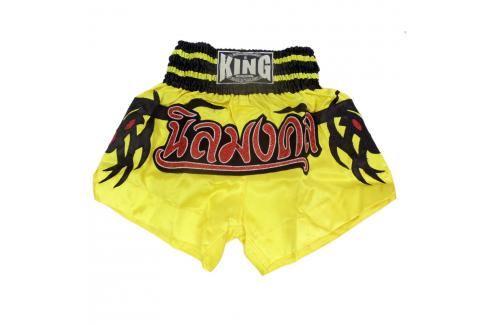 Thai trenky King - žlutá žlutá XXL Pánské šortky