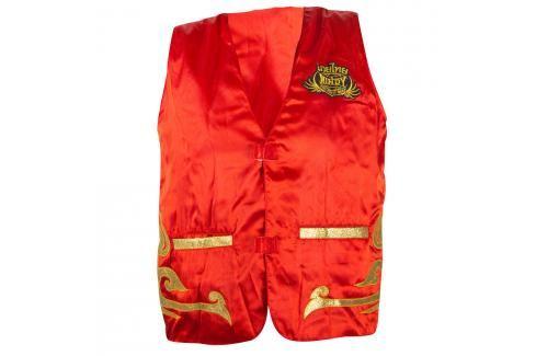 Trenérská vesta Windy - červená červená M Pánská trička