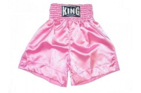 K-1 - trenky King plain - růžová růžová XL Pánské šortky