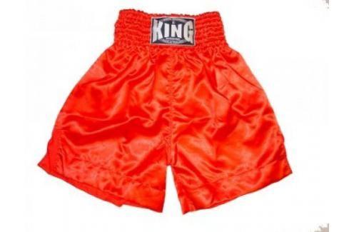 K-1 - trenky King plain červená XL Pánské šortky