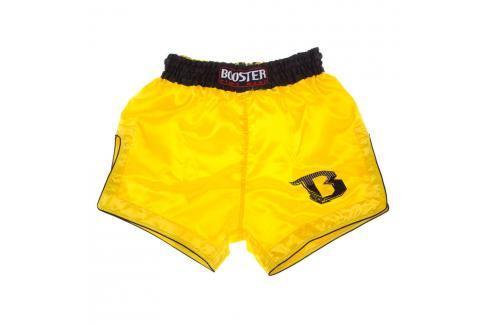 Thai trenky Booster Retro - žlutá žlutá XXL Pánské šortky