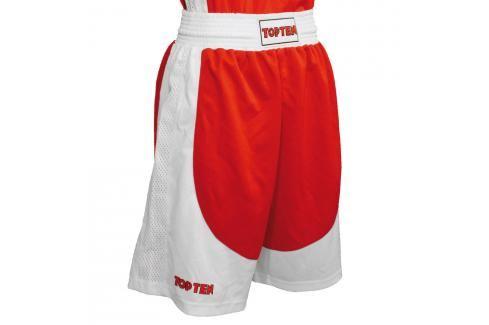 Boxerské trenky Top Ten AIBA - červená červená XL Pánské šortky