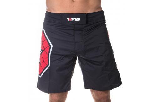 Top Ten MMA trenky Octagon černá S Pánské šortky