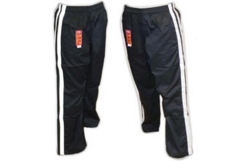 Bavlněné kalhoty Hayashi - černá černá 160 Pánské kalhoty