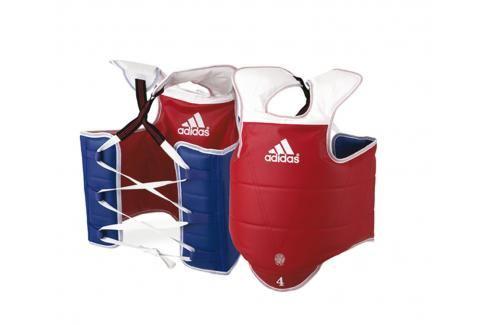 Oboustranná vesta adidas WTF - červená/modrá červená 2 Boxerské chrániče