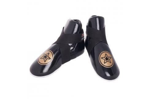 Chrániče nohou Top Ten Fight - černá černá M Boxerské chrániče