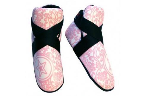 Chránič nohou TOP TEN INDIVIDUALS - 3068 GIRLS růžová M Boxerské chrániče