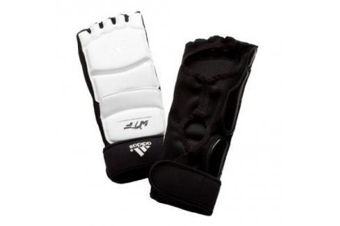 Chrániče nohou adidas WTF bílá M Boxerské chrániče